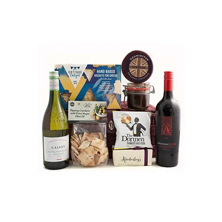Delightful Cheese Wine Hamper